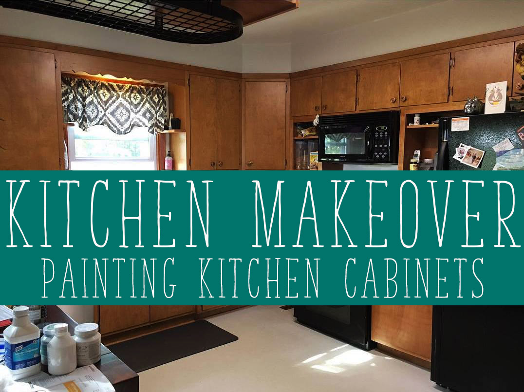 Kitchen Makeover: Phase 1, Painting Kitchen Cabinets